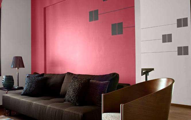 Modern Painting A Living Room Vignette - Living Room Designs ...