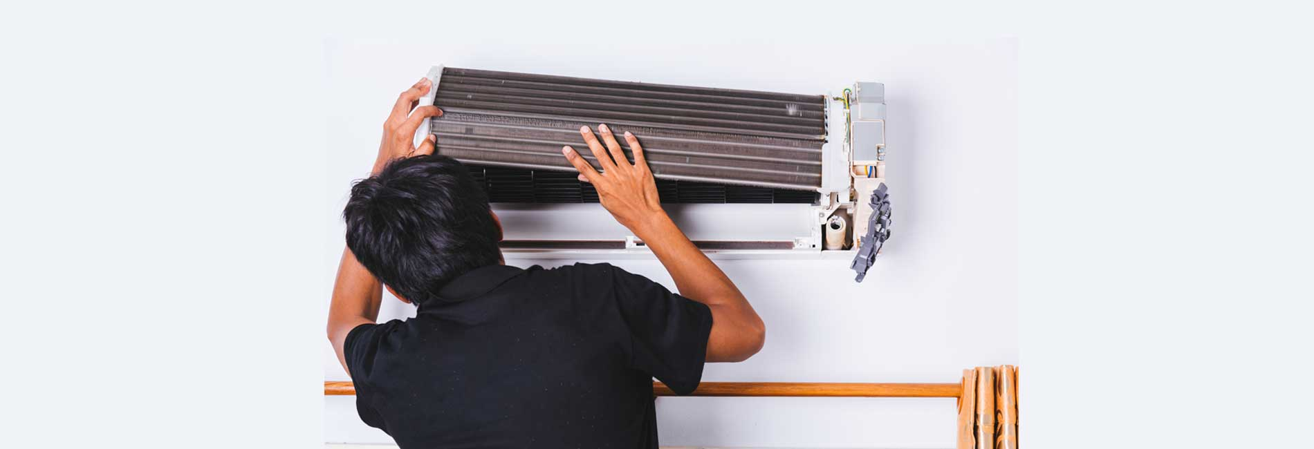 Whirlpool Split AC Uninstallation in Pakkam